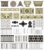 Detalles arquitectónicos Imágenes de archivo libres de regalías