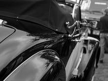 Detalles clásicos del coche Foto de archivo libre de regalías
