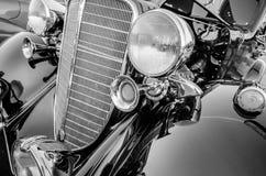Detalles clásicos del coche del vintage Imagen de archivo