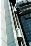 Detalles de alta tecnología del edificio Imagen de archivo