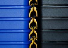 Detalles de empilar los rectángulos Imágenes de archivo libres de regalías