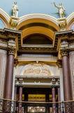 Detalles de la arquitectura, capitolio del primer del estado de Iowa Foto de archivo libre de regalías