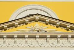 Detalles de la arquitectura del campanario de la iglesia de la gran ascensión, el arquitecto A g Grigoryev, 1848 Moscú, Bolshaya Imagen de archivo libre de regalías