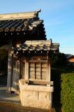 Detalles de la arquitectura japonesa Imágenes de archivo libres de regalías