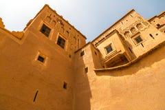 Detalles de la arquitectura de Kasbah Foto de archivo