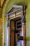 Detalles de la arquitectura, Secretario de Estado del primer del capitolio del estado de Iowa la oficina Fotografía de archivo