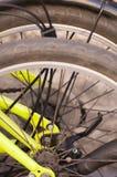 Detalles de la bici foto de archivo