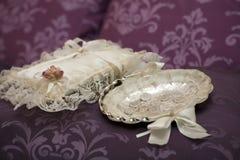 Detalles de la boda Foto de archivo libre de regalías