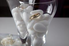 Detalles de la boda Fotografía de archivo libre de regalías