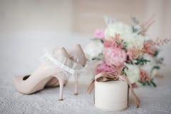 Detalles de la boda imagenes de archivo