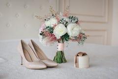 Detalles de la boda fotos de archivo