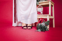 Detalles de la boda imagen de archivo libre de regalías