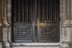 Detalles de la casa en Brujas, Bélgica imagen de archivo libre de regalías