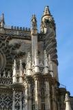 Detalles de la catedral Imágenes de archivo libres de regalías