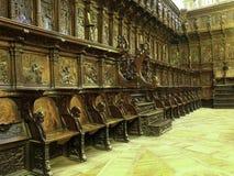 Detalles de la catedral de Burgos imagen de archivo