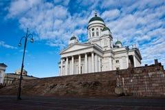 Detalles de la catedral de Helsinki Foto de archivo libre de regalías