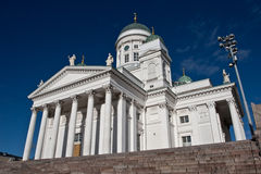 Detalles de la catedral de Helsinki Fotografía de archivo