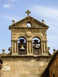 Detalles de la ciudad vieja del ` de Caceres Fotografía de archivo