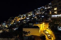 Detalles de la colina de Vidigal en Rio de Janeiro imagen de archivo libre de regalías