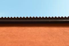Detalles de la construcción en estilo italiano Foto de archivo