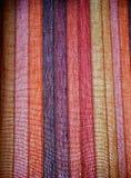 Detalles de la cortina Imagen de archivo