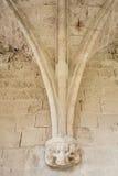 Detalles de la decoración de la abadía de Bellapais Fotos de archivo libres de regalías