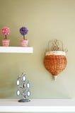 Detalles de la decoración del dormitorio Foto de archivo libre de regalías