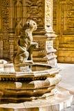 Detalles de la decoración dentro del monasterio de Jeronimos Fotografía de archivo