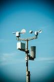 Detalles de la estación meteorológica Fotografía de archivo libre de regalías