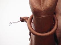 Detalles de la estatua de bronce Fotos de archivo libres de regalías