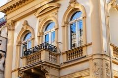 Detalles de la fachada Foto de archivo libre de regalías