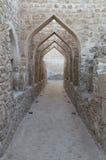 Detalles de la fortaleza de Bahrein Fotos de archivo libres de regalías