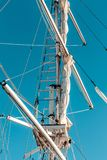 Detalles de la nave foto de archivo libre de regalías