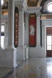 Detalles de la pared en Biblioteca del Congreso Foto de archivo libre de regalías