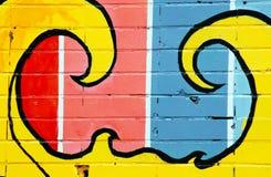 Detalles de la pintada Imagen de archivo libre de regalías