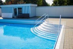Detalles de la piscina Imagen de archivo libre de regalías