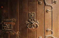 Detalles de la puerta Fotografía de archivo libre de regalías
