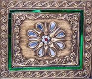 Detalles de la puerta del templo Fotos de archivo libres de regalías