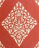 Detalles de la puerta del templo Imagen de archivo libre de regalías