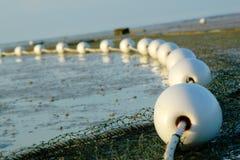 Detalles de la red de pesca Foto de archivo