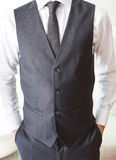 Detalles de la ropa de caballero foto de archivo libre de regalías