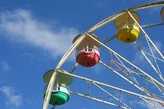 Detalles de la rueda de Ferris Fotos de archivo