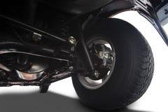 Detalles de la rueda del camión Imagen de archivo libre de regalías