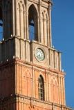 Detalles de la torre de la catedral Fotos de archivo