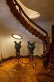 Detalles de las casas Batllo. Barcelona - España Fotos de archivo libres de regalías