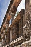 Detalles de las ruinas de la catedral de Palermo imagen de archivo