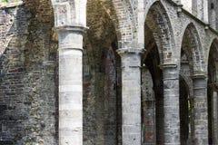 Detalles de los arcos de la abadía Imagenes de archivo