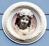 Detalles de los edificios de Art Nouveau Fotografía de archivo libre de regalías