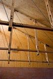 Detalles de madera de la construcción Fotos de archivo libres de regalías