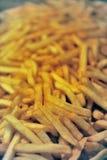 Detalles de patatas fritas Fotos de archivo